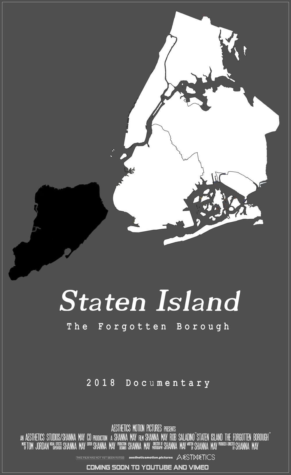 aesthetics motion pictures shanna may director staten island the forgotten borough documentary