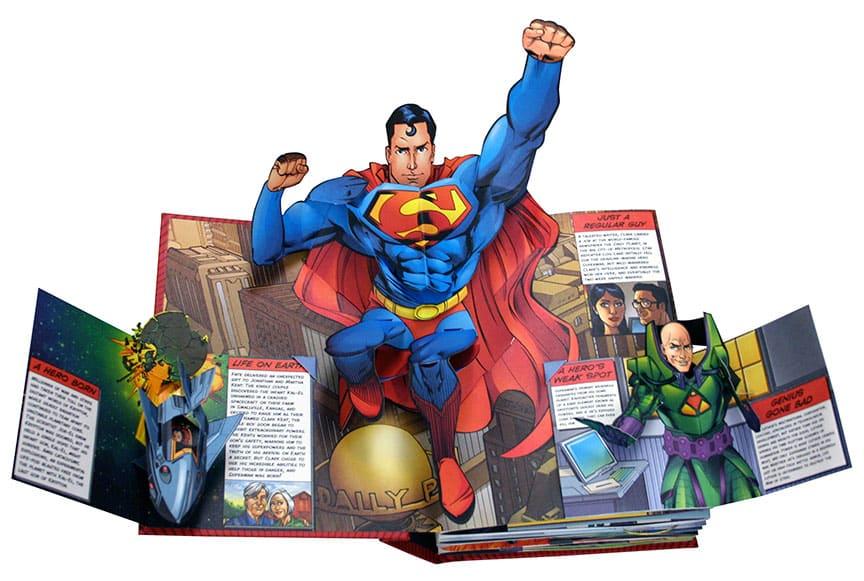 DC Super Heroes: The Ultimate Pop-Up Book! (DC Comics)